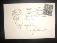 Etats Unis , Lettre De Milwaukee 1904 Pour Appenzell - Cartas