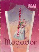 75- PARIS -PROGRAMME THEATRE MOGADOR - LA DANSEUSE AUX ETOILES- HENRI VARNA-VINCENT SCOTTO-MARTA LABARR- CHESNEL-GILBERT - Programmi