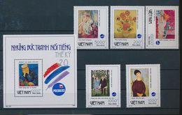 Vietnam Viet Nam MNH Perf Stamps & SS 1993 : World Philatelic Exhibition / Art Paintings Of Van Gogh / Picasso (Ms666) - Vietnam