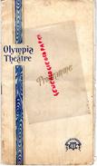 75- PARIS -PROGRAMME OLYMPIA- COTTENS MARINELLI-LA GRANDE REVUE-LEVEY-GIRIER-MAX MOREL-BREMONVAL-MAX LINDER-MONTEL- - Programmi
