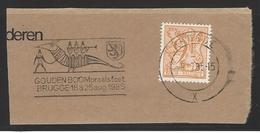 België Speciale Afstempeling Brugge Gouden Boompraalstoet - Poststempels/ Marcofilie