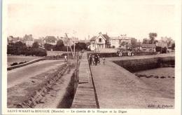 50 - SAINT WAAST La HOUGUE - Le Chemin De La Hougue - Saint Vaast La Hougue