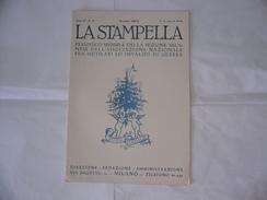 WW2 RIVISTA LA STAMPELLA SANTO NATALE 1931 MUTILATI ED INVALIDI DI GUERRA. - Libri