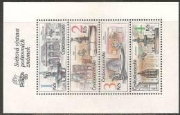 Cecoslovacchia 1988 Bloc Nuovo**  -  Yv. 78B - Blocchi & Foglietti