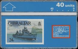 Gibraltar - L&G - GIB-25 - 306A - MINT - Gibraltar