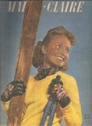 Mode Marie Claire N°270 Du 1er Février 1943 De Votre Ancien Tailleur Au Tailleur 1943 - Fashion