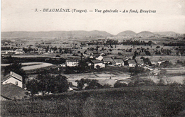 88-BEAUMENIL-VUE GENERALE-AU FOND BRUYERES- - Other Municipalities