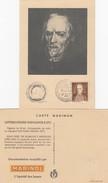 ESPAGNE CARTE MAXIMUM PEDRO CALDERON DE LA BARCA.  MARINOL DIEPPE - Maximum Cards