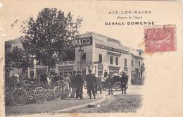 CPA - Aix-les-Bains : Garage Domenge (Square Du Gigot) - Aix Les Bains