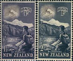 Ref. 321115 * HINGED *  - NEW ZEALAND . 1954. ALPINISM. ALPINISMO - New Zealand