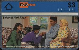 Malaysia - L&G - L-21 - 301B - 3.000 Ex. - MINT - RR - Malaysia