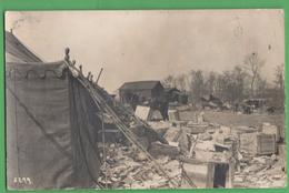 1WW France Camp Militaire - Guerre, Militaire