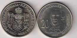 Serbia 20 Dinara 2007. UNC - Serbie
