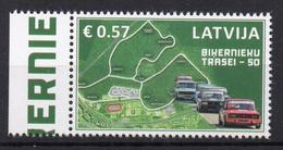 LETTONIE - LATVIA - 2016 - BIKERNIEKU - CIRCUIT AUTOMOBILE - CAR RACING TRACK - - Lettonia