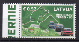 LETTONIE - LATVIA - 2016 - BIKERNIEKU - CIRCUIT AUTOMOBILE - CAR RACING TRACK - - Lettonie