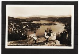ZAK624 POSTKARTE JAHR 1938  PÖRTSCHACH Am WÖRTHERSEE Vom Hohen Glorietto GEBRAUCHT SIEHE ABBILDUNG - Pörtschach