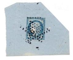 CERES N° 4 Avec Cachet Etoile N°6 Sur Fragment - 1849-1850 Cérès