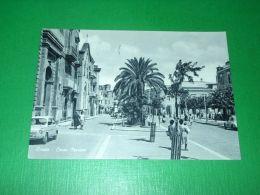 Cartolina Corato -- Corso Mazzini -- 1962 - Bari