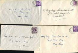 HONG KONG SMALL OFFICE POSTMARKS 1960/62 - Hong Kong (...-1997)