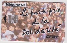 Télécarte CFDT  03/95 ; - France