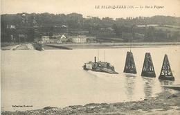 E-16-6053 :  LE RELECQ-KERHUON. LE BAC  A VAPEUR - France
