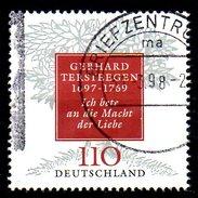 ALLEMAGNE. N°1793 De 1997 Oblitéré. G. Tersteegen. - Theologians