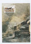 1985 UN Vienna  FDC Maximum Card  UN ANNIV  Landscape , By MAXIPHIL  Horse Stamps Cover United Nations Horses - Maximum Cards