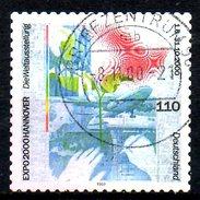 ALLEMAGNE. N°1939 De 2000 Oblitéré. Expo'2000. - 2000 – Hanovre (Allemagne)