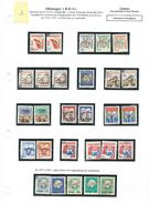 VIETNAM VIÊT-NAM DDR SOLIDARITA Sur Vignettes  RDA 1970/1975 Oblitérées TB Explications Sur La Feuille D'album Voir Scan - [6] Repubblica Democratica