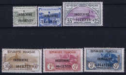 Indochine Yv  90 - 95  MH/* Falz/ Charniere 1919 - Indochine (1889-1945)
