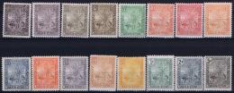 Madagascar Yv 63 - 77 MH/* Falz/ Charniere  1903 - Madagascar (1889-1960)