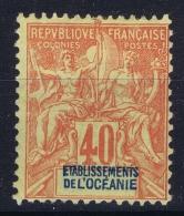 Oceanie Yv  10 MH/* Falz/ Charniere  1892 - Nuevos