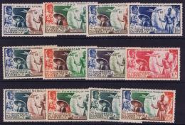 Grandes Séries Colonies Françaises : 75 ème Anniversaire De L´U.P.U. 1949 X,Postfrisch/neuf Sans Charniere /MNH/** - 1949 75e Anniversaire De L'UPU