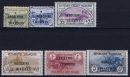 Indochine  Yv 90 - 95  MH/* Falz/ Charniere - Indochine (1889-1945)
