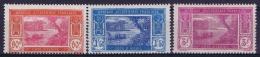Cote D'Ivoire  Yv 81 - 83  MH/* Falz/ Charniere 1930 - Ivoorkust (1892-1944)