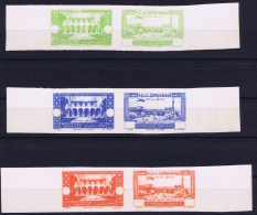 Grande Liban Part Set Epreuves Avec Certificate - Great Lebanon (1924-1945)