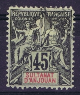 Anjouan Yv Nr 18  Gestempelt/used/obl. - Gebruikt