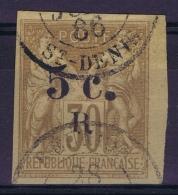 ReunionYv Nr 5  Gestempelt/used/obl. St Denis - Reunion Island (1852-1975)