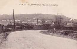 Guny - Vue Générale De L'Ecole Ménagère - France
