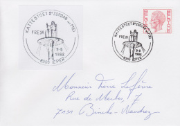 Enveloppe (1982-05-09, 8900 Ieper) RB - La Déesse ' Freya ' - PL - Poststempels/ Marcofilie