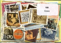 Lot 100 Timbres Grèce - Timbres