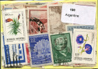 Lot 100 Timbres Argentine - Vrac (max 999 Timbres)