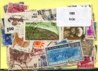 Lot 100 Timbres Inde - Timbres