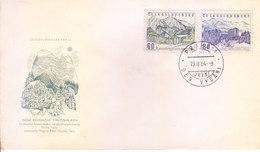 CZECHOSLOVAKIA FIRST DAY COVER 19.11.1964 - NOVE REKREACNE STREDISKA ROH - Czechoslovakia