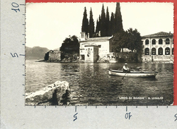 CARTOLINA VG ITALIA - GARDA (VR) - Punta San Vigilio - 10 X 15 - ANN. 1959 - Verona