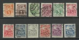 ESTLAND Estonia 1922-1928 Blacksmith Schmied Weaver O - Estland