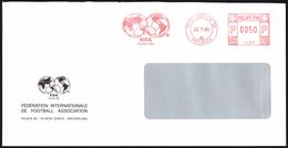 SWITZERLAND ZURICH 1989 - METER / EMA F.I.F.A. FEDERATION INTERNATIONALE FOOTBALL ASSOCIATION - Fútbol