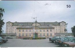 Denmark, R 036E, Prisoncard, Horsens State Prison, Only 12000 Issued, 2 Scans. - Danimarca
