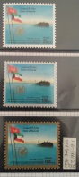 K30-  Kuwait 1996 Complete Set 3v. MNH - 50th Anniversary Of First Oil Shipment From Kuwait, Tanker Ship - Kuwait