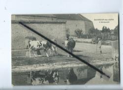 CPA Rétrécit  -  Baigneur Les Juifs  - L'Abreuvoir  (  Baigneux Les Juifs ) (Vache , Vaches ) - Otros Municipios
